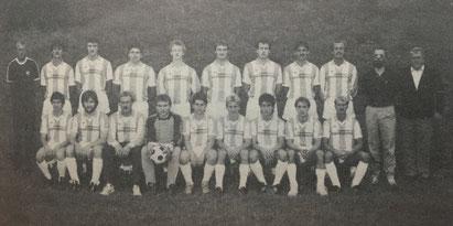 Die SpVgg Ziegetsdorf im Jahr 1990