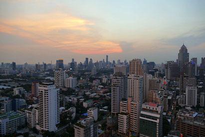 Bangkok von oben.