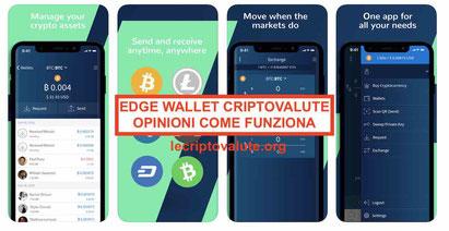 edge wallet guida portafoglio