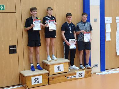 Tobias Larscheid erlangt den 3. Platz in der Jungen 18