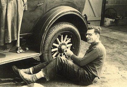 Gert Moeller war als Autotüftler bekannt.
