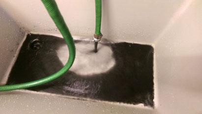 Magnetitschlamm aus Fussbodenheizung