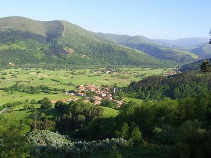 Vistas del Valle de Cabuerniga.