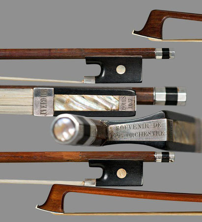 modern bow for violin, viola or cello the 18th century, when it was perfected by the Frenchman Francois Tourte