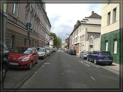 Virchowstr. Richtung Munscheidstr Foto: W. Müller