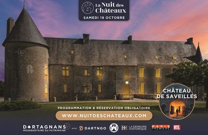 Château de Saveilles de nuit - ©photo-Dartagnans
