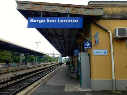 Bild: Bahnhof Borgo San Lorenzo