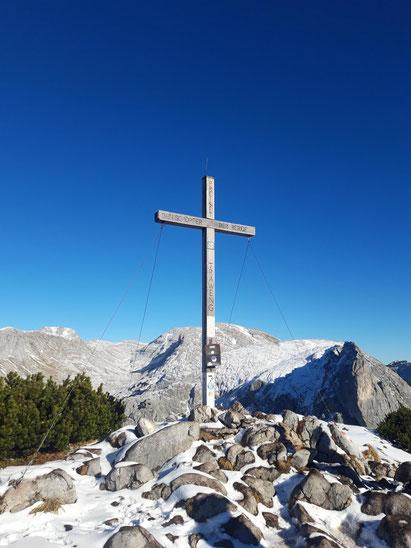Traweng Gipfel über der Tauplitz im Toten Gebirge