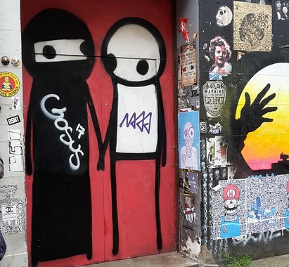 Shoreditch Street Art Tours, Stik
