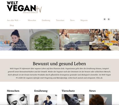 Lilly die Chefin von Lexagirl Naturkosmetik beim Welt Vegan TV
