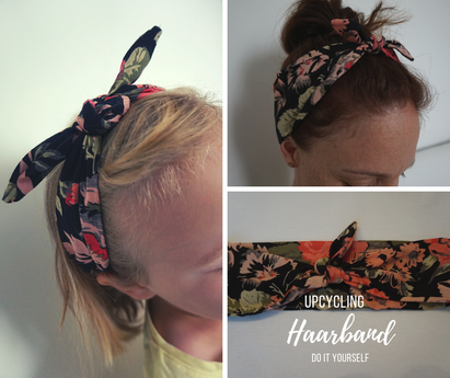 Haarband Upcycling DIY