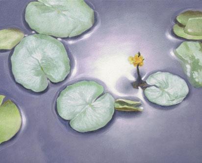 「光に触れる」 油彩・キャンバス F3 94,500円