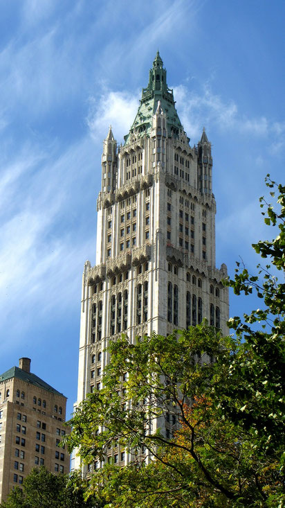 Woolworth Building, Cass Gilbert