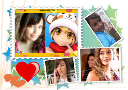 Mi creacion. con Photo Frame Studio