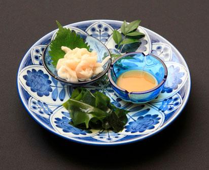 まんぼうの腸の湯引き(季節限定)