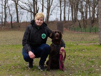 Lena mit Bella
