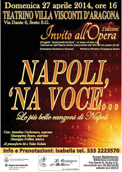 Manifesto Napoli, 'Na Voce...