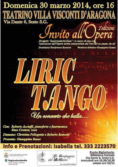 Manifesto Liric Tango