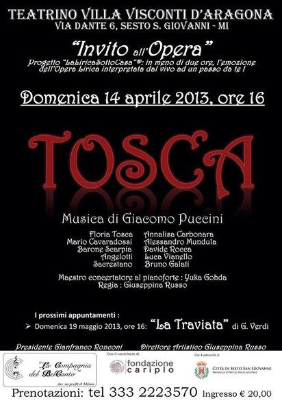 Manifesto Tosca