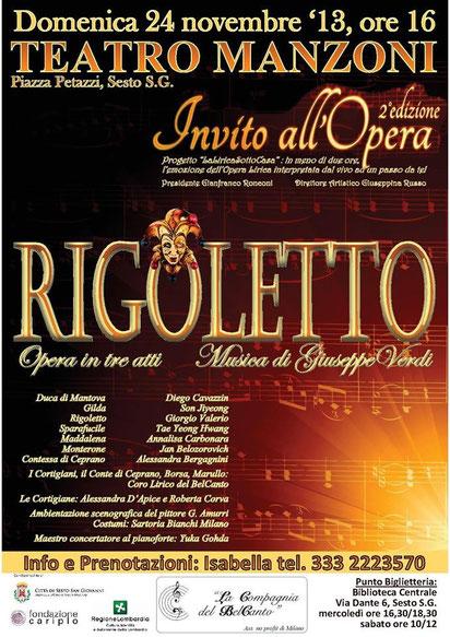 Manifesto Rigoletto
