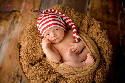 Weihnachts Foto-Set ,Neugeborenen Sitter Outfit Mädchen Junge Neugeborenenfotografie, Kleidung für Mädchen,  Neugeborenen Requisiten,Babyhaarband handmade,baby girl photoshoot outfit Wrap wrappen Pucktuch Hut Mütze alles für Weihnachten Sittersize Kleid