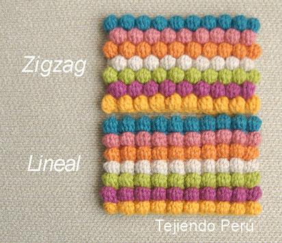 Punto bobble tejido a crochet (crochet bobble stitch)