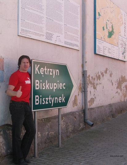 Im ehemaligen Ostpreußen! Das Foto wurde von Marta geschossen, Podziekowa!