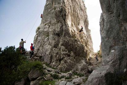 KLETTERGARTEN FILZMOOS Klettergärten