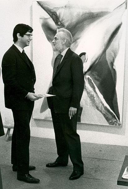 1967 avec Paul Jenkins