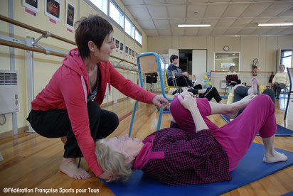 Paris 14, association Tawef, Programme PIED pour seniors victimes de chutes