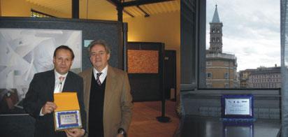 """With prof. Mario Nicosia - """"Natale di Roma"""" 2009"""