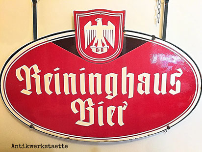 Reininghaus Bier Sign