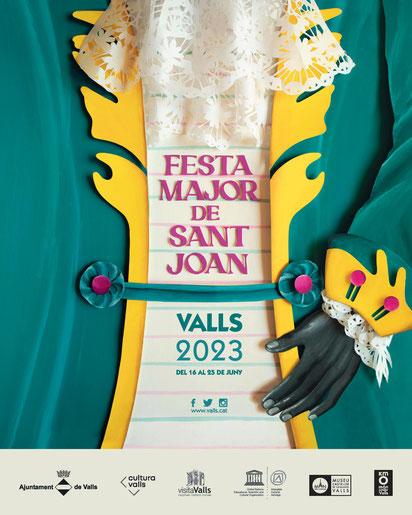 Programa de la Festa Major de Valls