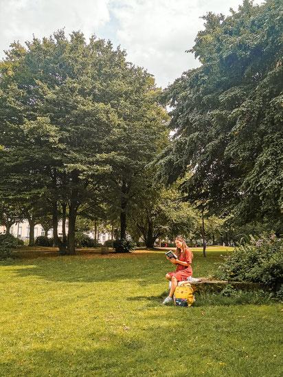 Lohmühlenpark Hamburg St. Georg