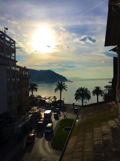 Sonnenaufgang Rapallo