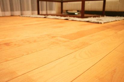 床暖房の写真