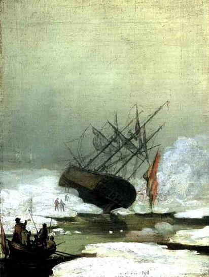 Крушение в ледяном море. 1798