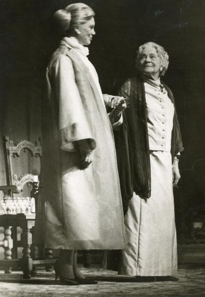 Elisabeth Flickenschildt  und Tilla Durieux