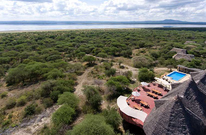 Lake Burunge Tented Lodge Tansania Safari
