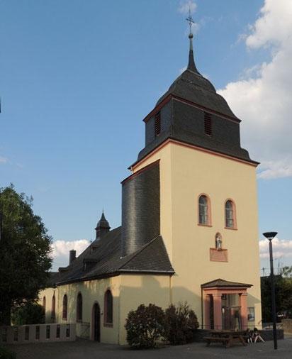 Pluwig, St. Johannes der Täufer, Gesamtansicht; Foto: (C) Theophil Schweicher