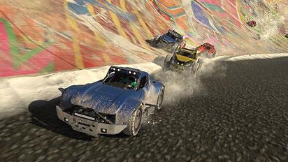 Action Auto Spiel: Onrush