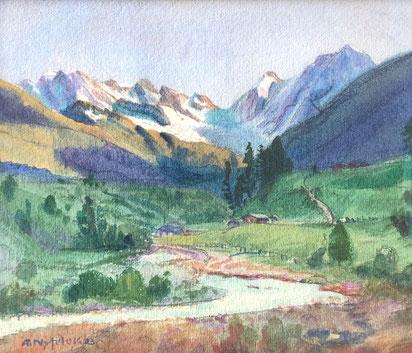 Albert Nyfeler, Lötschental