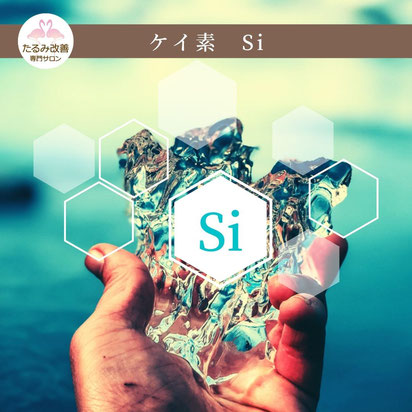 「ケイ素はシリカ、シリコンとも呼ばれる鉱物