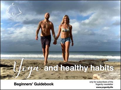 Yoga and healthy habits Beginners' Guidebook