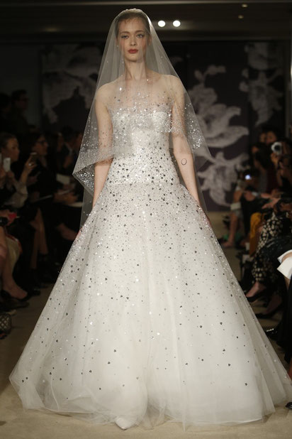 Robe de mariée Carolina Herrera 2015