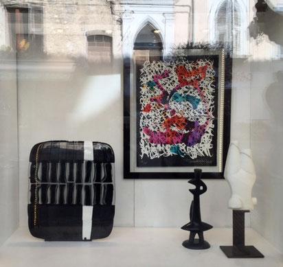 Vitrine Mars 2015-Galerie Gabel vieux village de Biot