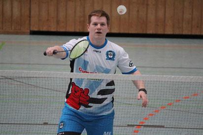 Matthias Kroll BVM MÜhlacker Badminton Rangliste Stuttgart Einzel Herreneinzel