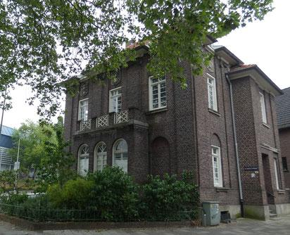 Atelierwoning Schoolstraat Heerlen, monument architect Theophile van Kan