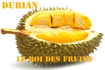 Le Durain, le Roi des fruits à Bali.