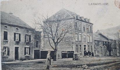 Der Bauernhof der Familie Tockert, und das alter Hotel Tockert.